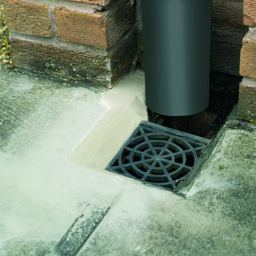 Concrete repair mortar for drains