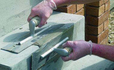Concrete repair mortar fixing damaged steps