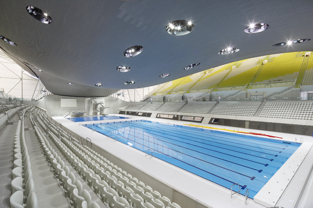 london 2012 aquatics centre a fitting legacy from the 2012 london olympics projectdetails