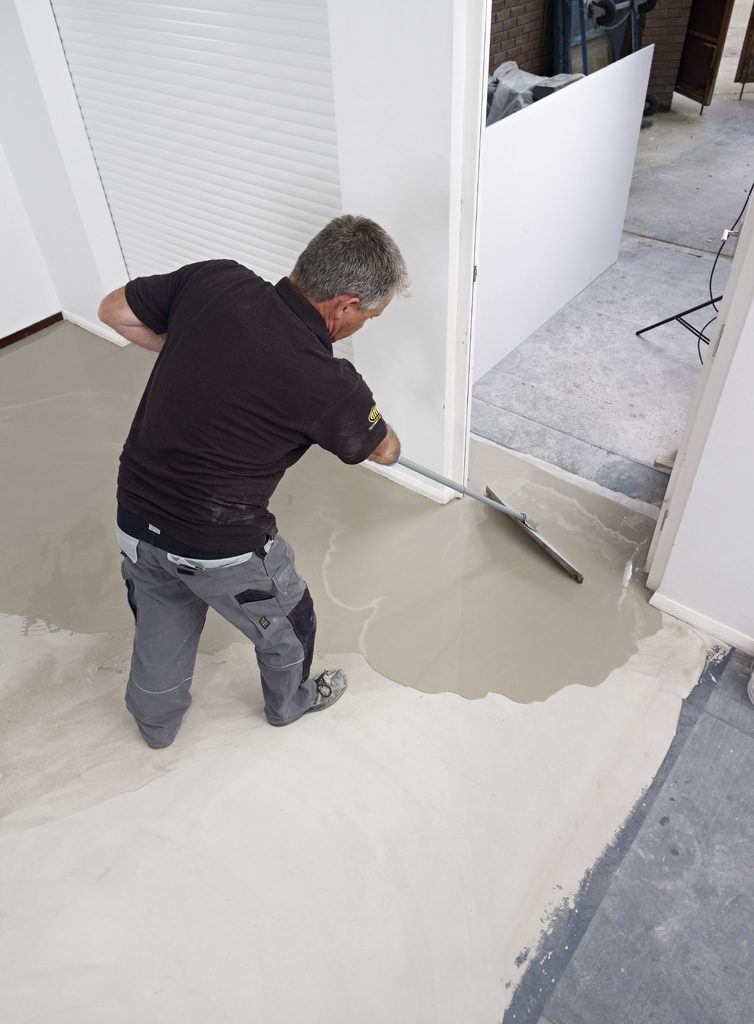 ARDEX K 39 applied to new builds