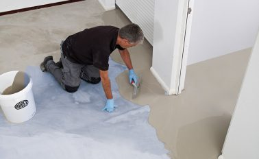 ARDEX K 39 Ultra Rapid Hardening and Drying Levelling Compound on new builds