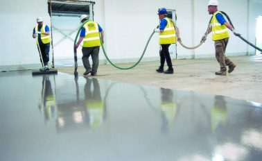 Resurfacing industrial warehouse flooring