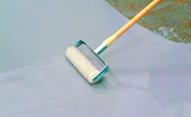 ARDEX K 11 Levelling and smoothing compound application
