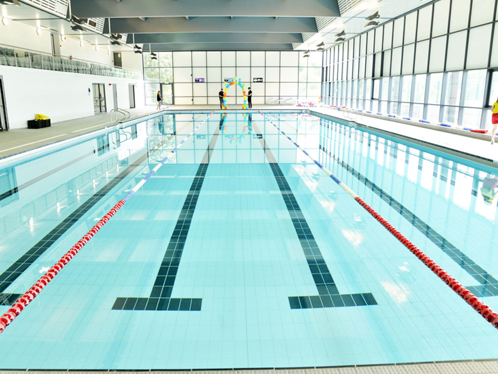 Swimming Pool Project Management : Stratford park leisure centre swimming pool m² of