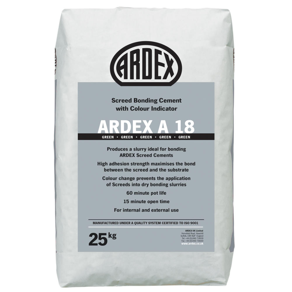 ARDEX A 18 Screed Bonding Cement Slurry with Colour Indicator