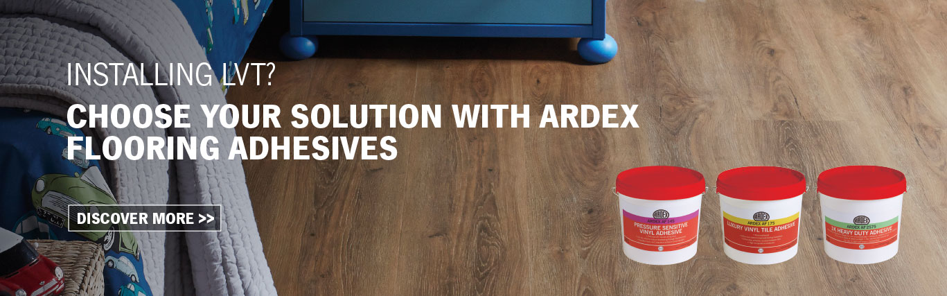 High Performance Flooring Adhesives from ARDEX