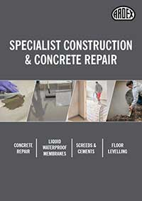 Specialist Construction & Concrete Repair Products Brochure