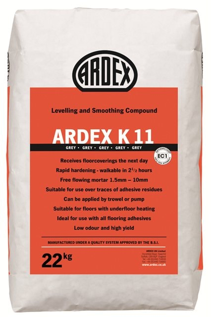 Ardex K 11 Cost Effective Rapid Hardening Levelling Compound