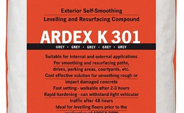 Ardex K 301 Exterior Self Levelling Concrete Resurfacing