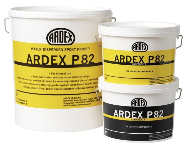 ARDEX P 82 Primer - Water Based Epoxy Primer and Bonding Agent